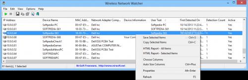 Как узнать список клиентов роутера программой Wireless Network Watcher