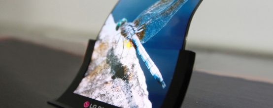 LG Folding Display