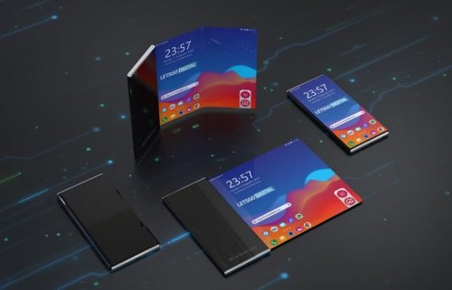 LG Folding Smartphone