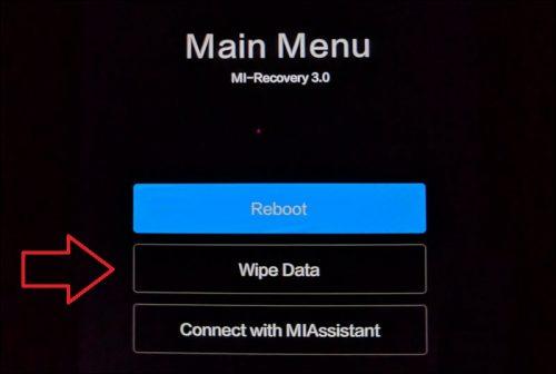 Как сделать вайп данных на смартфоне