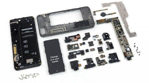 Fairphone 3 в разборе