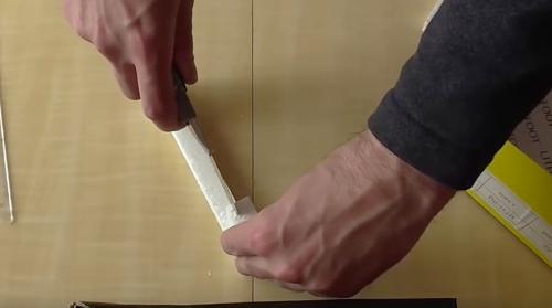 Вырезать остатки прямоугольника